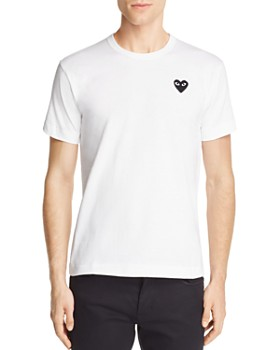 Comme Des Garcons PLAY - Heart Logo Graphic Tee