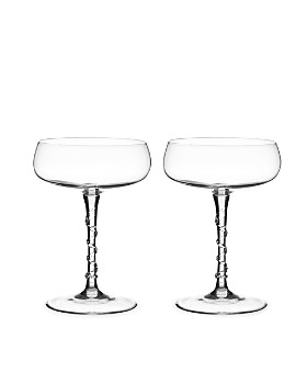 Juliska - Amalia Champagne Coupe, Set of 2