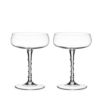 Juliska - Amalia Champagne Coupe, Set of 2