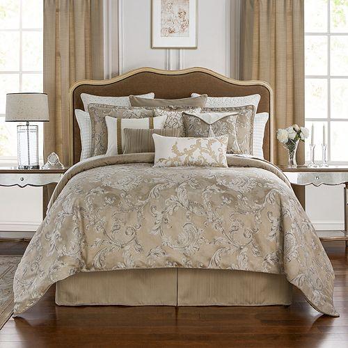 Waterford - Chantelle Jacquard Comforter Set, Queen