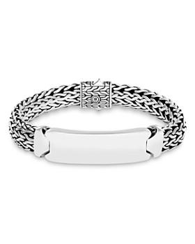 John Hardy - Sterling Silver Classic Chain ID Bracelet
