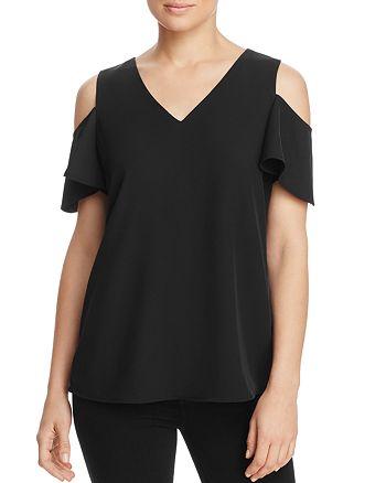 Calvin Klein - Cold Shoulder Bell Sleeve Top