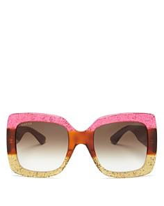 Gucci - Women's Oversized Square Sunglasses, 55mm