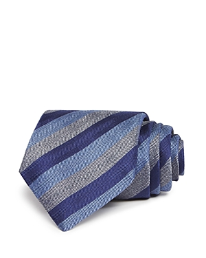 John Varvatos Star Usa Herringbone Stripe Classic Tie