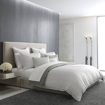 Vera Wang - Mirrored Square Bedding Collection