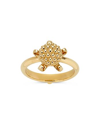 Temple St. Clair - 18K Yellow Gold Mini Pod Ring with Diamond