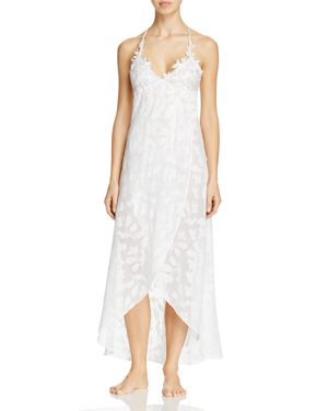 Jonquil Mesh Top Gown