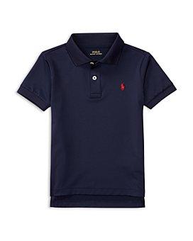 Ralph Lauren - Boys' Stretch Lisle Solid Polo Shirt - Little Kid