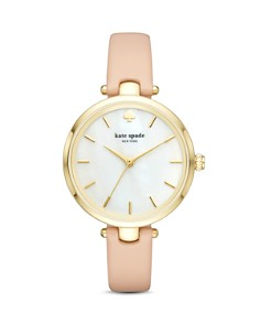 kate spade new york - Leather Holland Watch, 34mm
