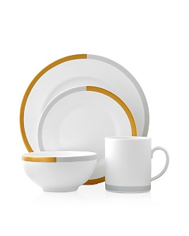 Wedgwood - Vera Castillon Gold/Gray Dinnerware Collection