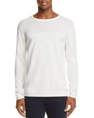 Scotch & Soda Perforated Cotton Sweater