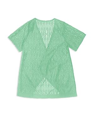 Gossip Girl Girls' Crochet Swim Coverup - Big Kid