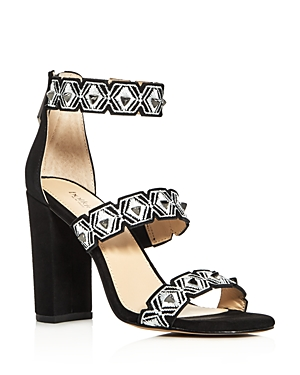 Botkier Gigi Embellished Strappy High Heel Sandals
