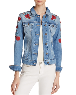 Mavi Samantha Embroidered Denim Jacket - 100% Exclusive
