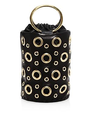 Delphine Delafon Grommet Large Leather Bucket Bag