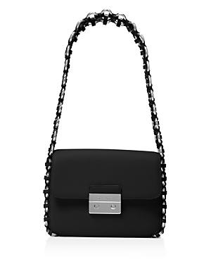 Michael Michael Kors Piper Flap Large Leather Shoulder Bag