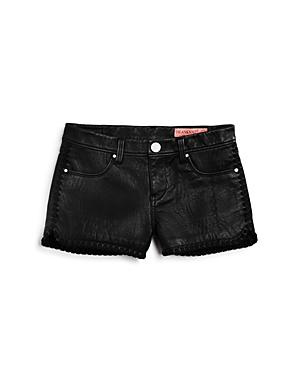Blanknyc Girls' Faux Leather Shorts - Big Kid