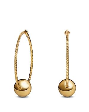 David Yurman Solari Large Hoop Earrings in 18K Gold