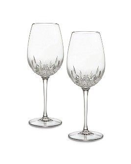Waterford - Lismore Essence Boxed Goblets, Pair