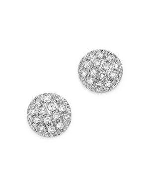 Dana Rebecca Designs Diamond Lauren Joy Mini Earrings in 14K White Gold