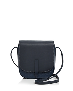 Karen Walker Bonnie Mini Leather Saddle Bag