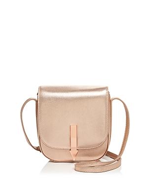 Karen Walker Bonnie Mini Leather Saddle Bag