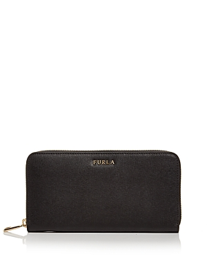 Furla Babylon Zip Around Extra Large Leather Wallet