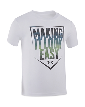 Under Armour Boys Making It Look Easy Tech Tee  Sizes 27