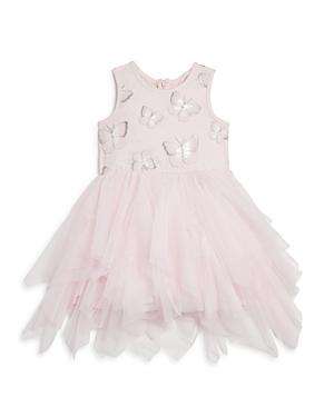 Pippa & Julie Girls' Butterfly Tutu Dress - Little Kid