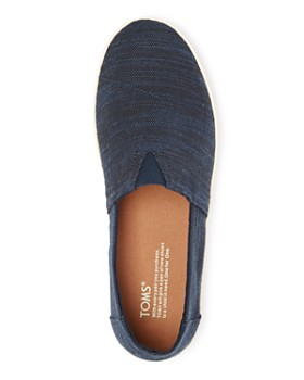 TOMS - Men's Avalon Linen Slip On Sneakers