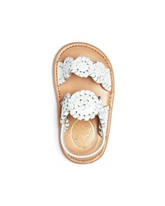 Jack Rogers - Girls' Medallion Leather Slingback Sandals - Baby