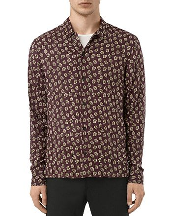 ALLSAINTS - Serrate Slim Fit Button-Down Shirt