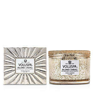 Voluspa Blond Tabac Corta Maison Candle With Lid