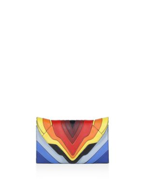 Elena Ghisellini Selina Leather Clutch