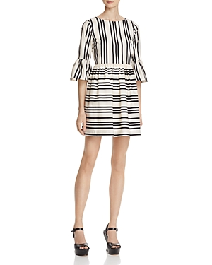 Alice + Olivia Augusta Striped Dress