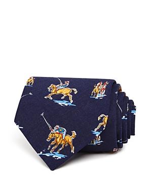 Drake's Polo Horse Macro Classic Tie