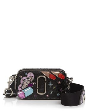 Marc Jacobs Pill Snapshot Leather Camera Bag
