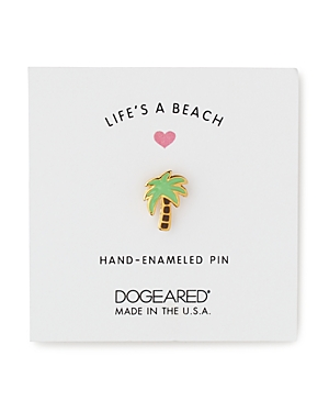 Dogeared Life's A Beach Palm Tree Pin