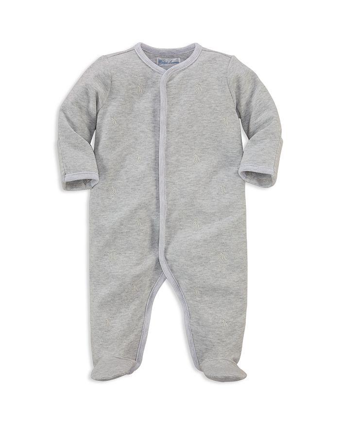 Ralph Lauren - Unisex Embroidered Footie - Baby