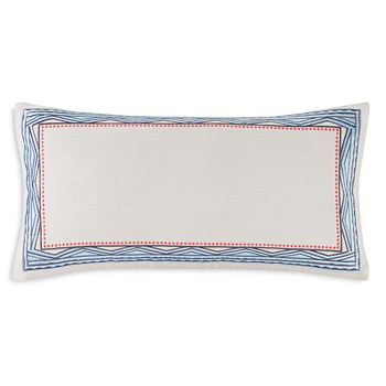"Echo - Ibiza Decorative Pillow, 10"" x 20"""