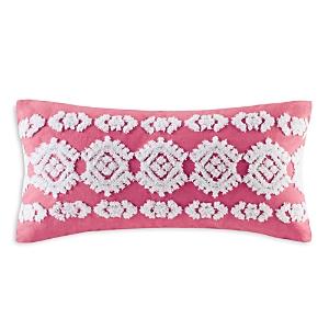 Echo Shibori Decorative Pillow, 10 x 20