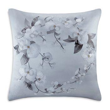 Natori - White Orchid Euro Sham