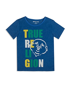 True Religion Boys' Buddha Print Tee - Sizes S-xl