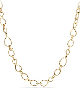 David Yurman - Continuance Medium Chain Necklace in 18K Gold