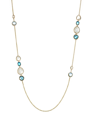 Ippolita 18K Yellow Gold Rock Candy Grouped Gelato Station Necklace in Raindrop, 37