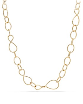 David Yurman - Continuance Large Chain Necklace in 18K Yellow Gold