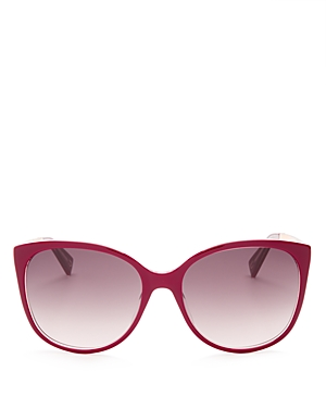 marc jacobs female marc jacobs classic cat eye sunglasses 55mm