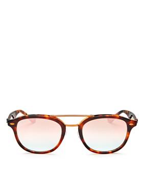 Ray-Ban - Unisex Mirrored Round Sunglasses, 53mm