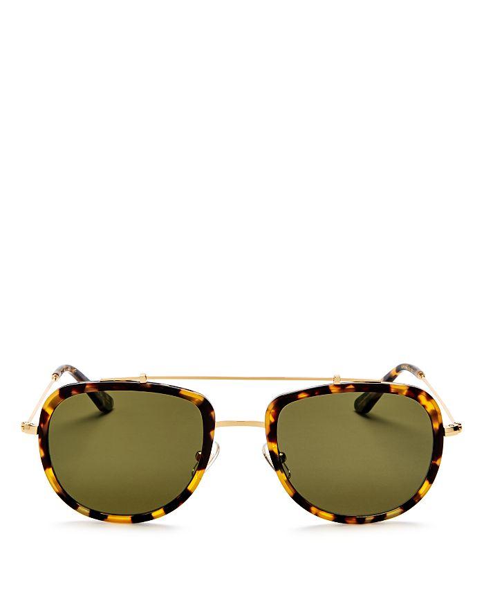 Krewe - Women s Breton 24K Polarized Aviator Sunglasses 36a808bd29