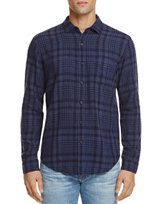 Rails - Connor Indigo Plaid Slim Fit Button-Down Shirt
